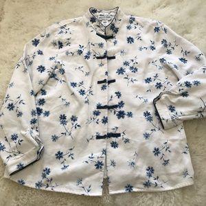 Pendleton Floral Blazer